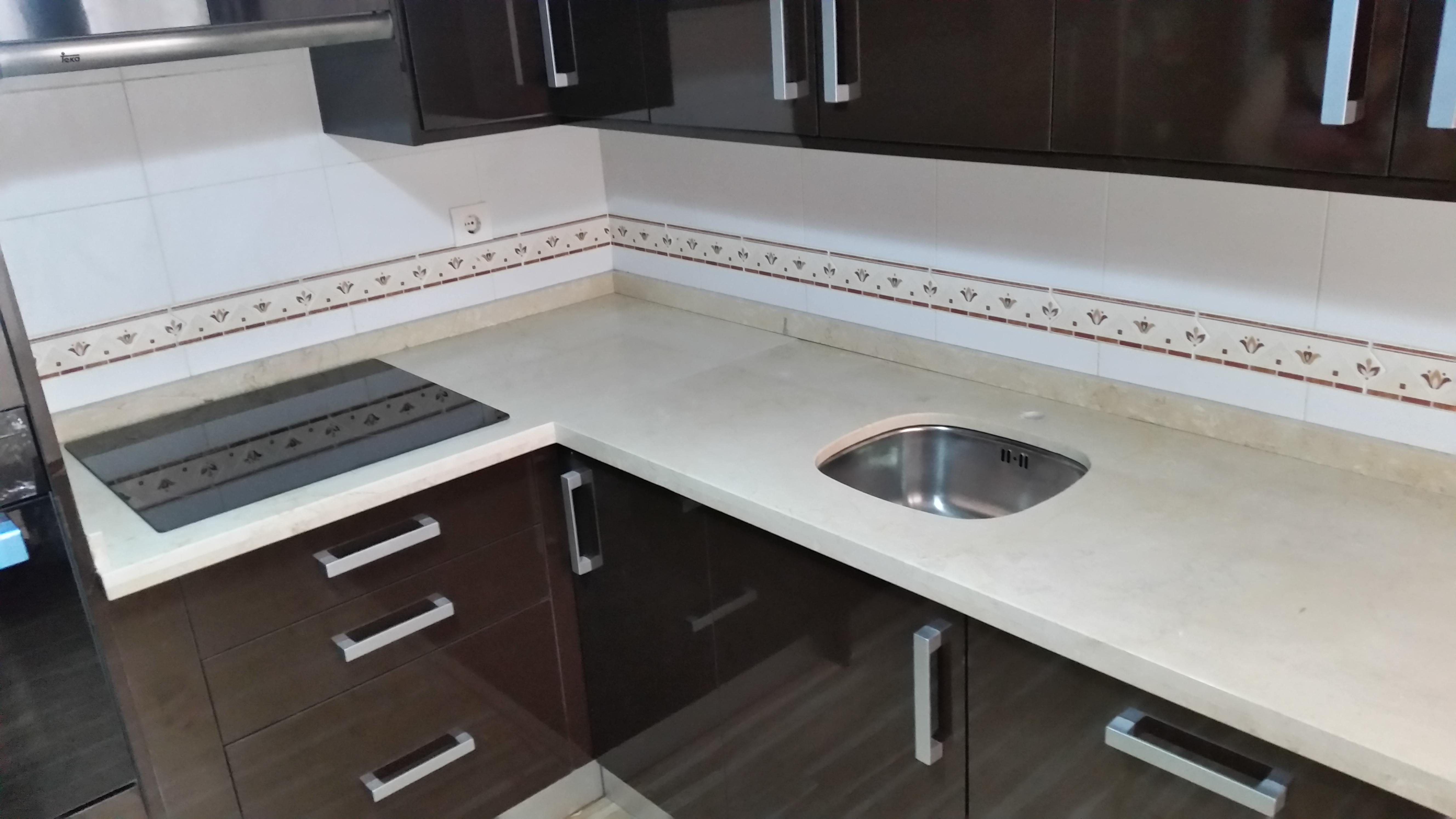 Encimeras de cocina m rmoles y granitos mart n - Encimera marmol cocina ...