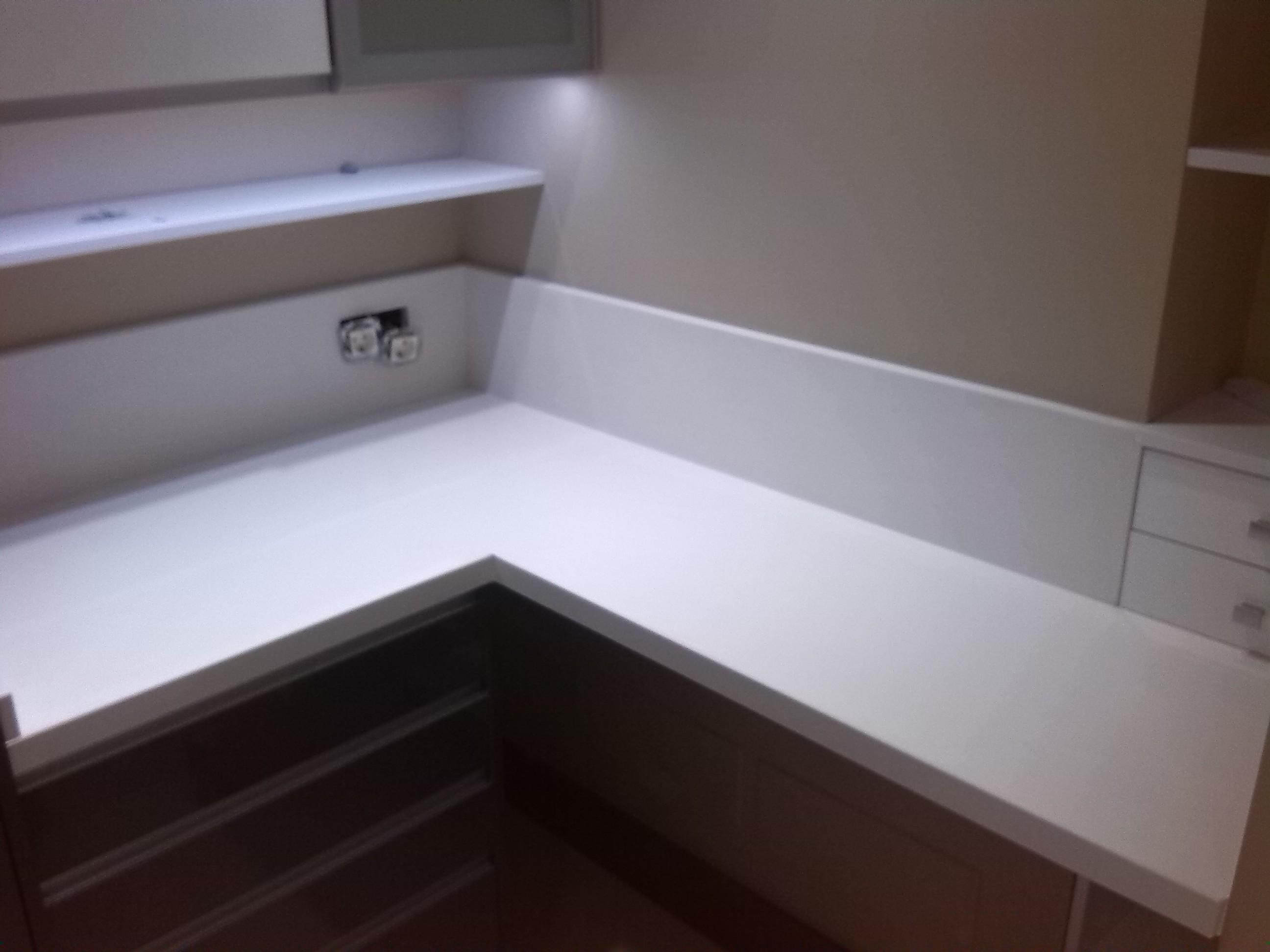 Encimeras de cocina m rmoles y granitos mart n - Encimera granito blanco ...