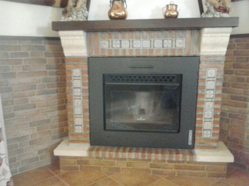 Chimeneas m rmoles y granitos mart n for Construccion de chimeneas de ladrillo
