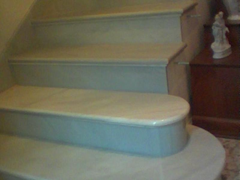 Escaleras m rmoles y granitos mart n for Escaleras de marmol y granito